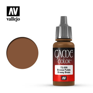 Vallejo Vallejo: Game Color: Brassy Brass