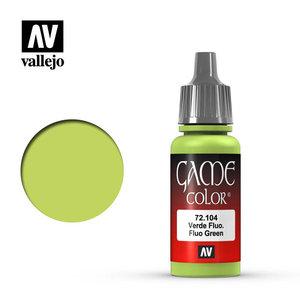 Vallejo Vallejo: Game Color: Fluorescent Green