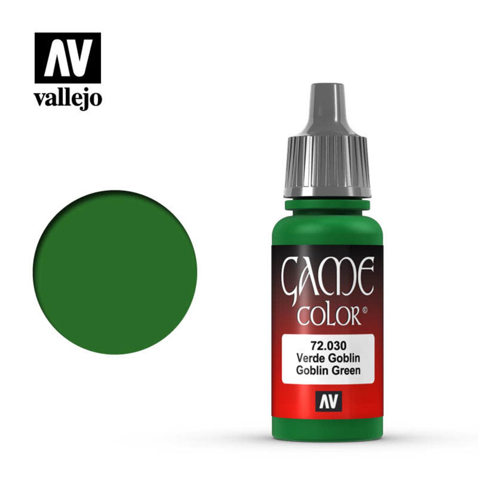 Vallejo Vallejo: Game Color: Goblin Green
