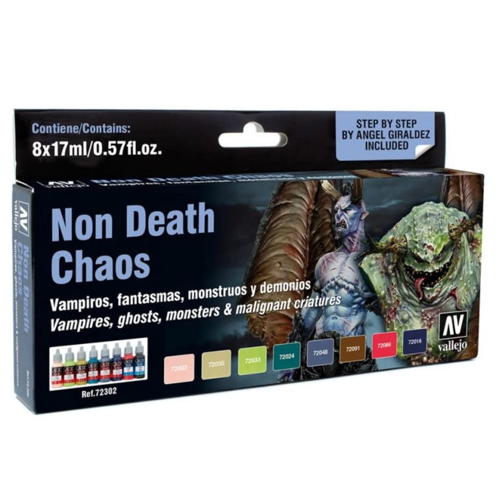 Vallejo Vallejo: Game Color: Non Death Chaos Color Set (8)