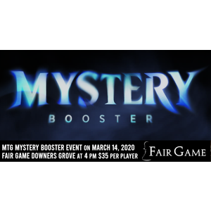 Wizards of the Coast Admission: Mystery Booster Release Event (Downers Grove March 14)
