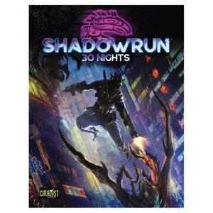Cryptozoic Shadowrun 6th Ed: 30 Nights in Chicago