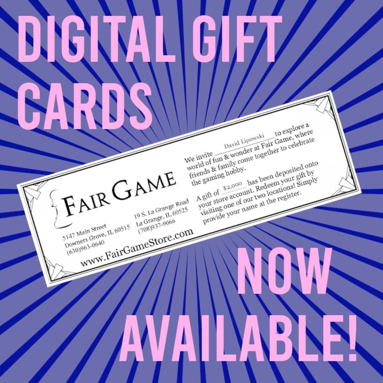Fair Game Digital Gift Card
