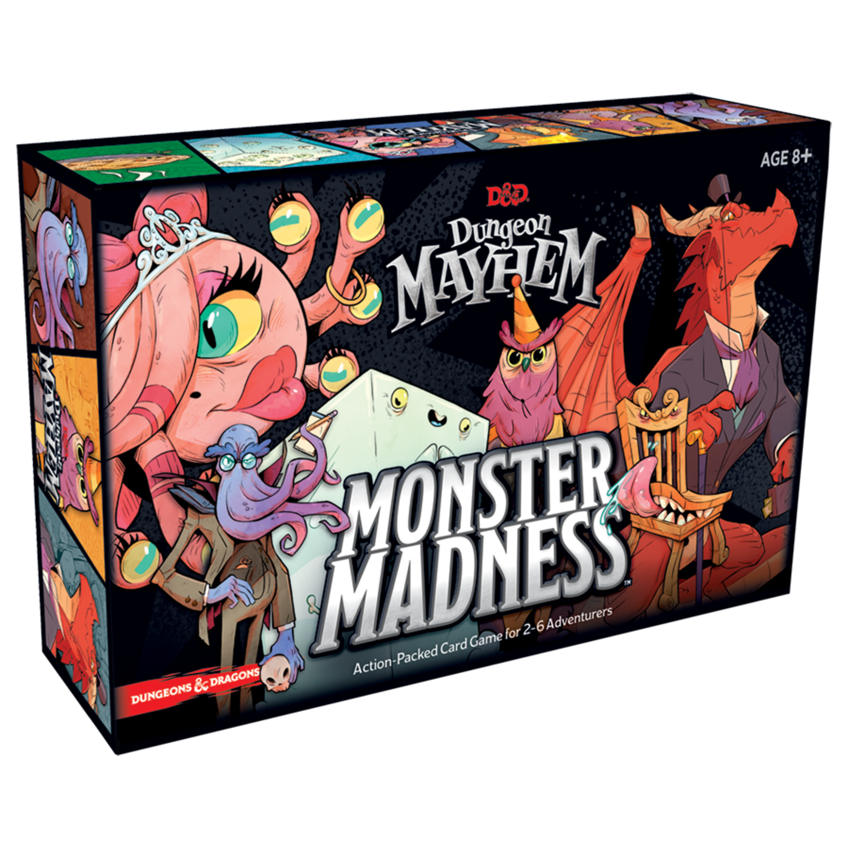 Wizards of the Coast Dungeon Mayhem Card Game: Monster Madness