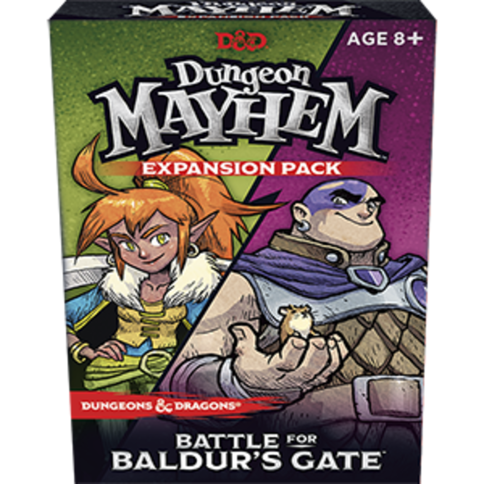Wizards of the Coast D&D Dungeon Mayhem Card Game: Battle for Baldur's Gate