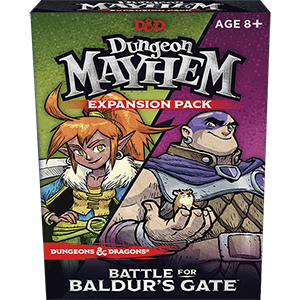 Wizards of the Coast D&D Dungeon Mayhem Card Game: Battle for Baldur's Gate