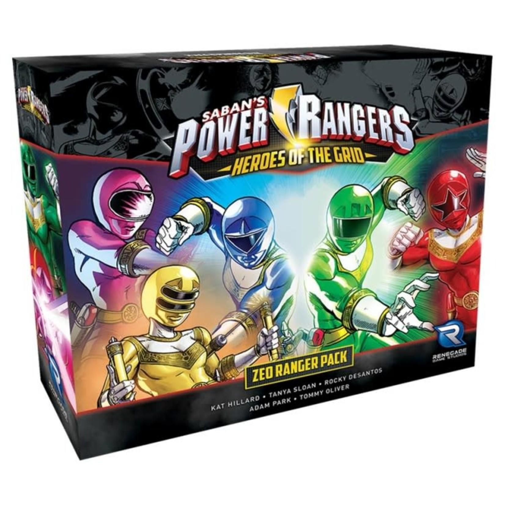 Renegade Power Rangers: Heroes of the Grid - Zeo Rangers Pack