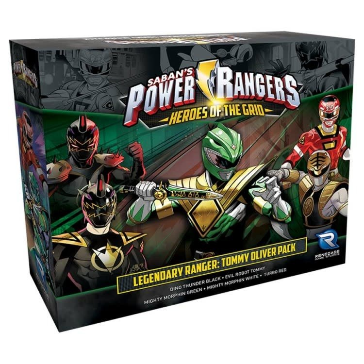 Renegade Power Rangers: Heroes of the Grid - Legendary Ranger: Tommy Oliver