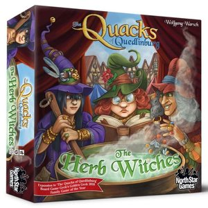 North Star The Quacks of Quedlinburg: The Herb Witches Expansion