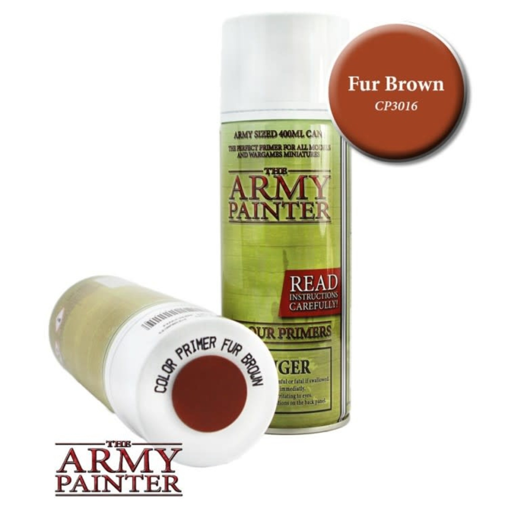 The Army Painter The Army Painter: Primer:  Fur Brown
