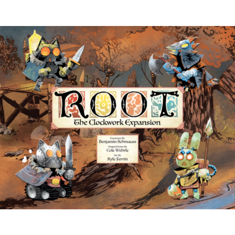 Leder Games Root: Clockwork Expansion