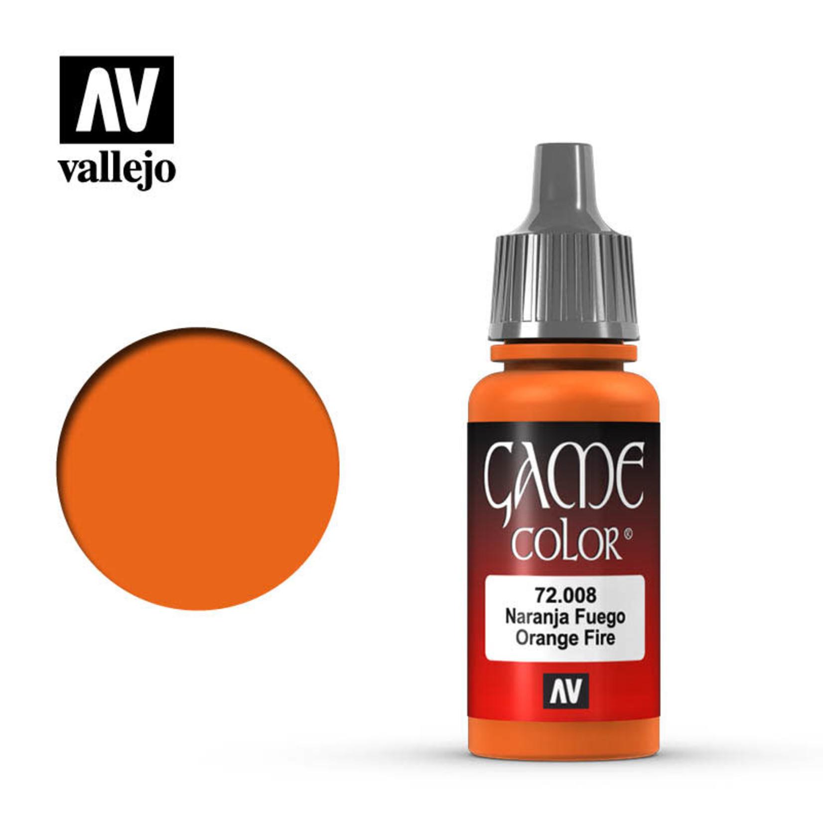 Vallejo Vallejo: Game Color: Orange Fire