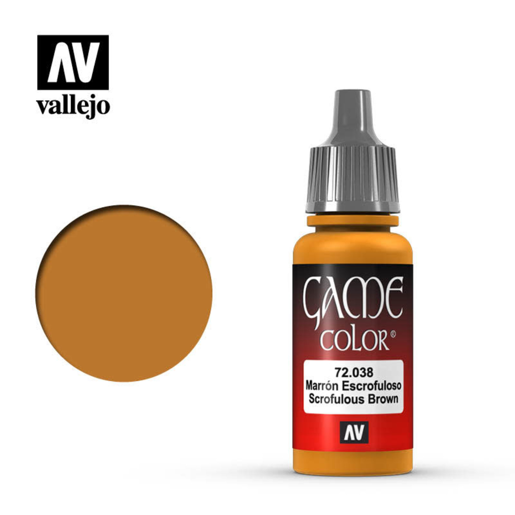 Vallejo Vallejo: Game Color: Scrofulous Brown