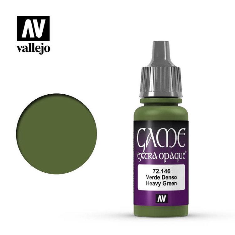 Vallejo Vallejo: Game Color: Opaque: Heavy Green