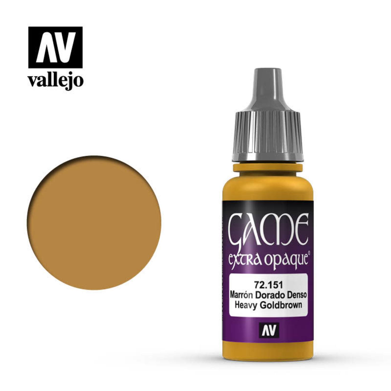 Vallejo Vallejo: Game Color: Opaque: Heavy Goldbrown