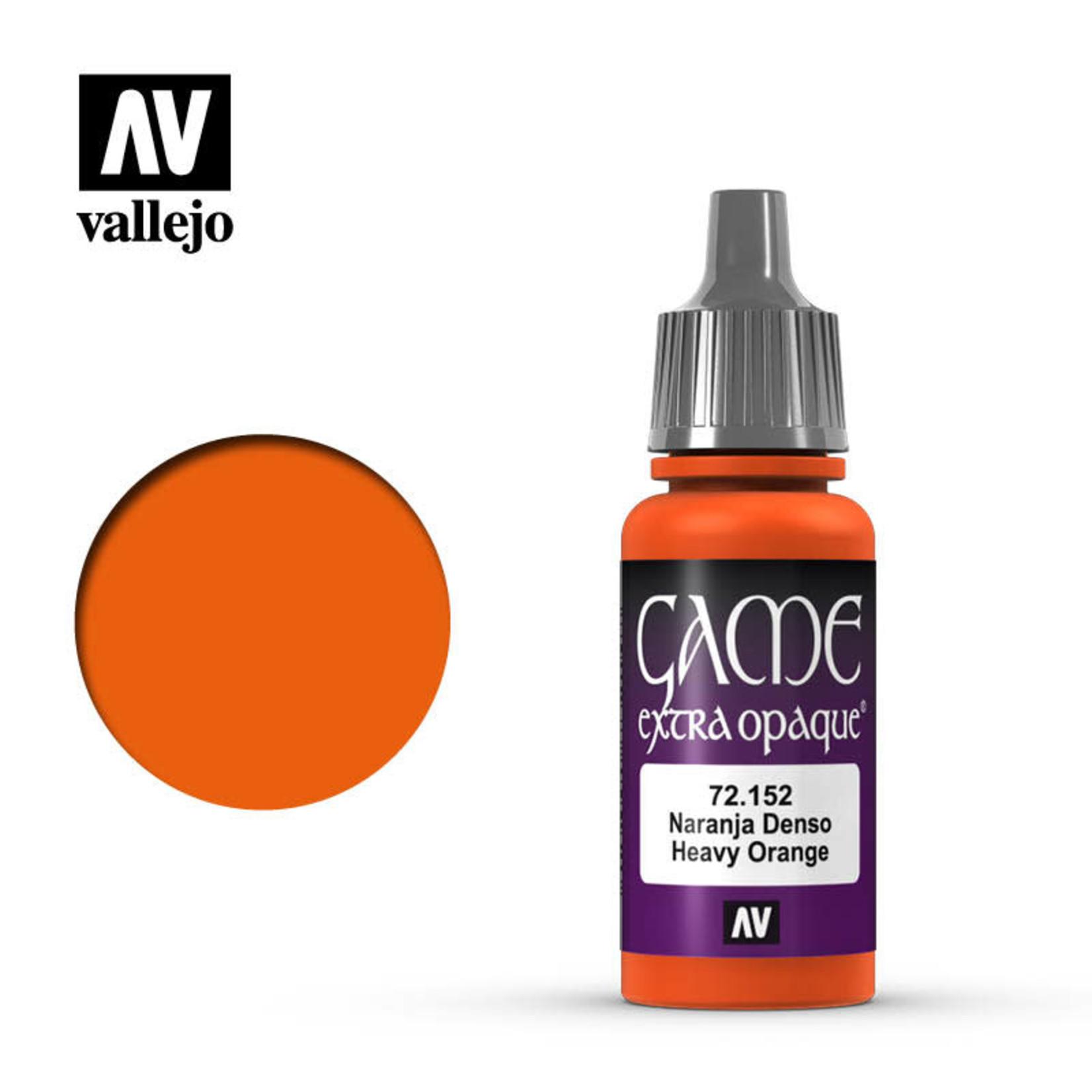 Vallejo Vallejo: Game Color: Opaque: Heavy Orange