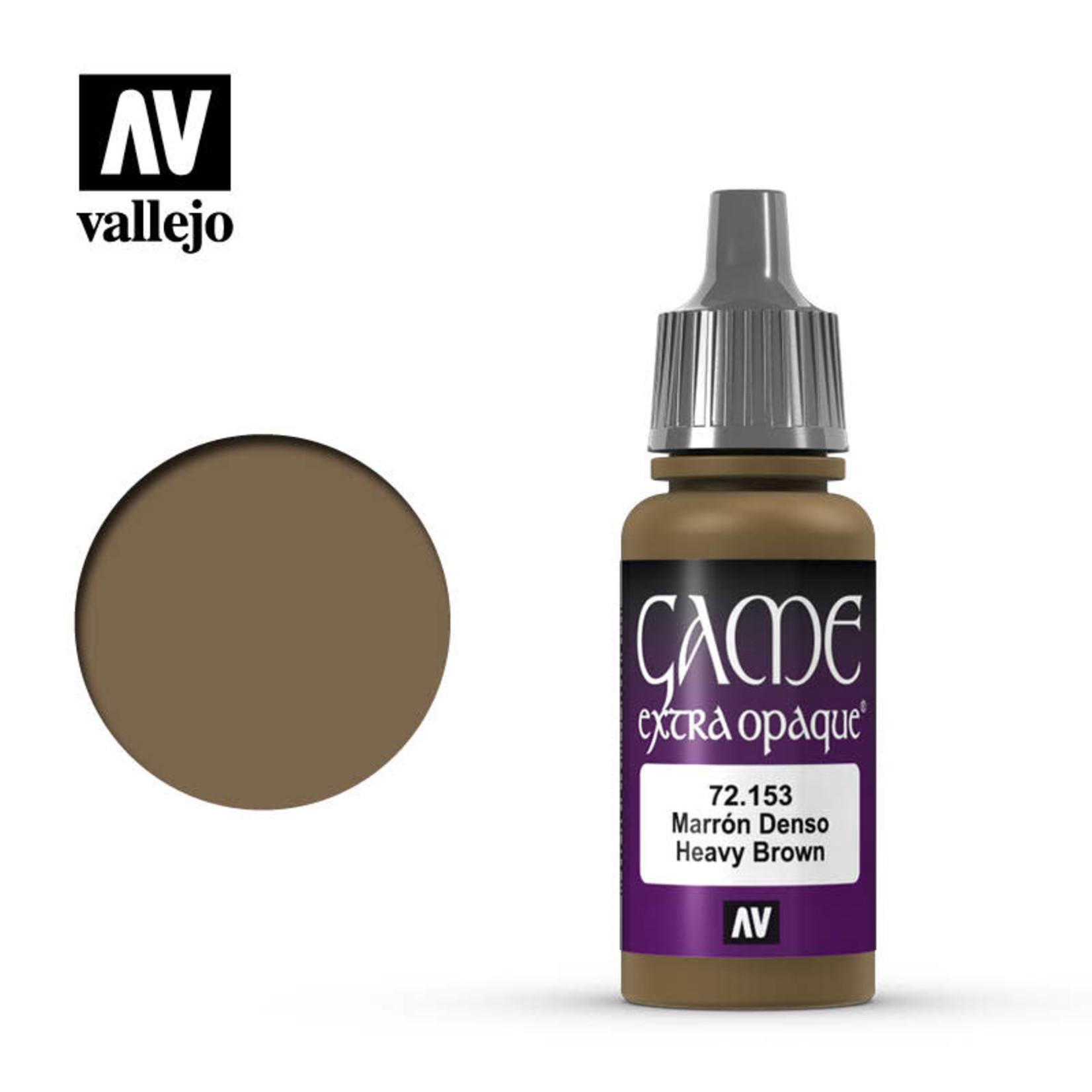 Vallejo Vallejo: Game Color: Opaque: Heavy Brown