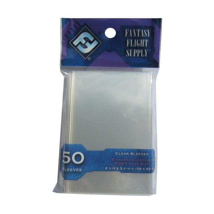 Fantasy Flight Games Standard European Board Game Sleeves (50) (Purple)