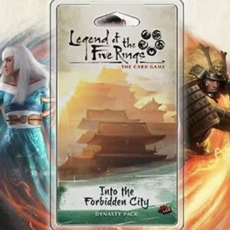 Fantasy Flight Games Legend of the Five Rings Card Game: Into the Forbidden City Dynasty Pack