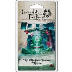 Fantasy Flight Games Legend of the Five Rings Card Game: The Chrysanthemum Throne Dynasty Pack
