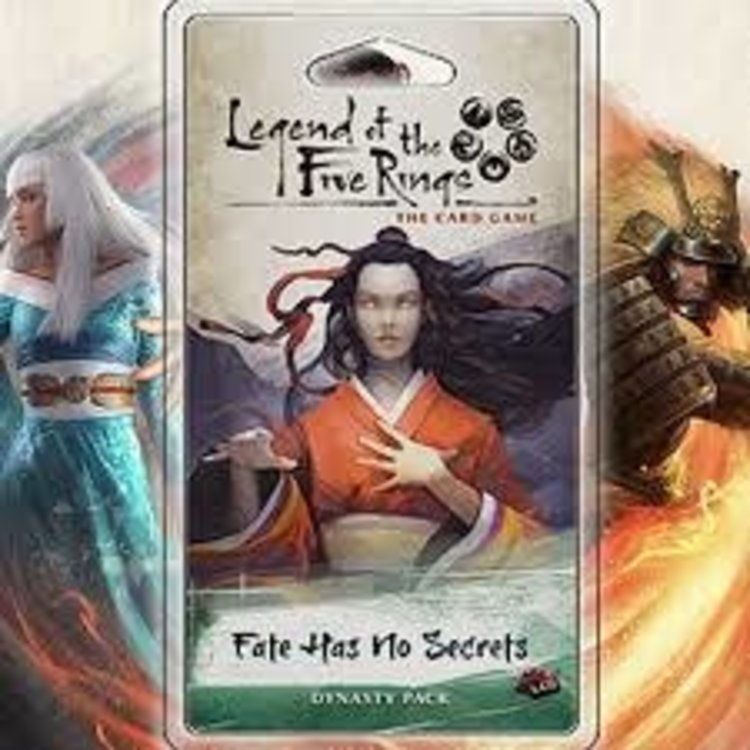 Fantasy Flight Games Legend of the Five Rings Card Game: Fate Has No Secrets Dynasty Pack