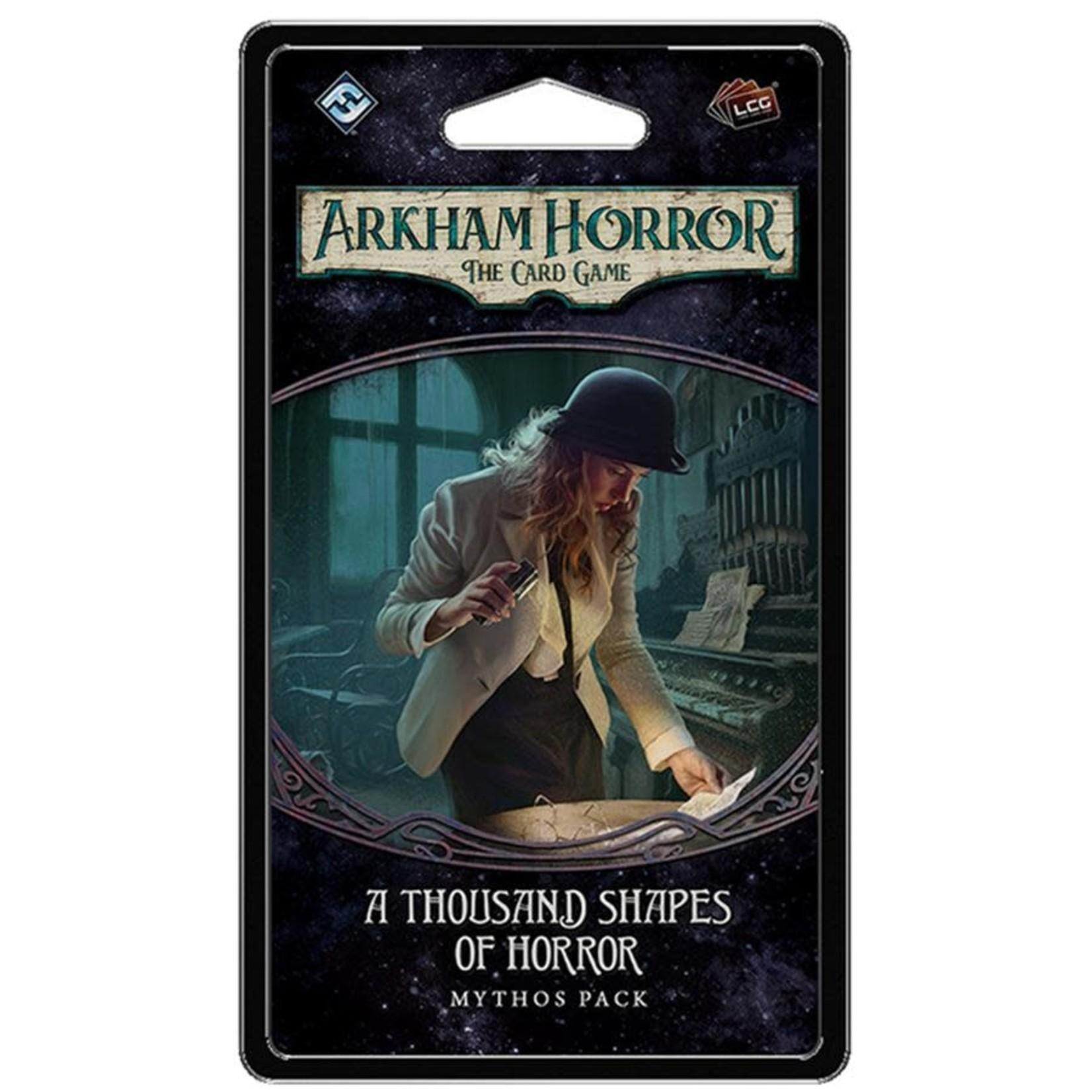 Fantasy Flight Games Arkham Horror LCG: A Thousand Shapes of Horror Mythos Pack (Dream Eaters Pack 2)