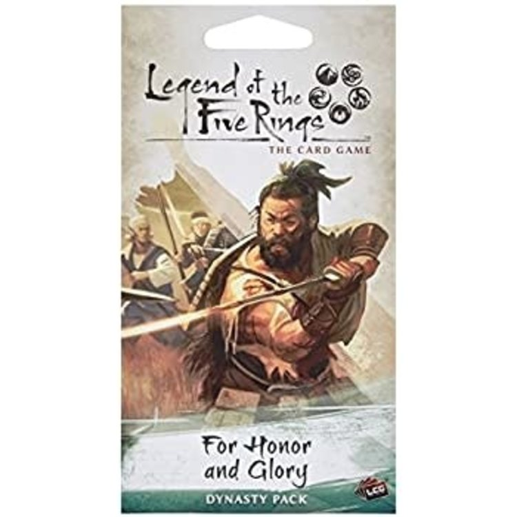 Fantasy Flight Games Legend of the Five Rings Card Game: For Honor and Glory Dynasty Pack