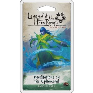 Fantasy Flight Games Legend of the Five Rings Card Game: Meditations on the Ephemeral Dynasty Pack