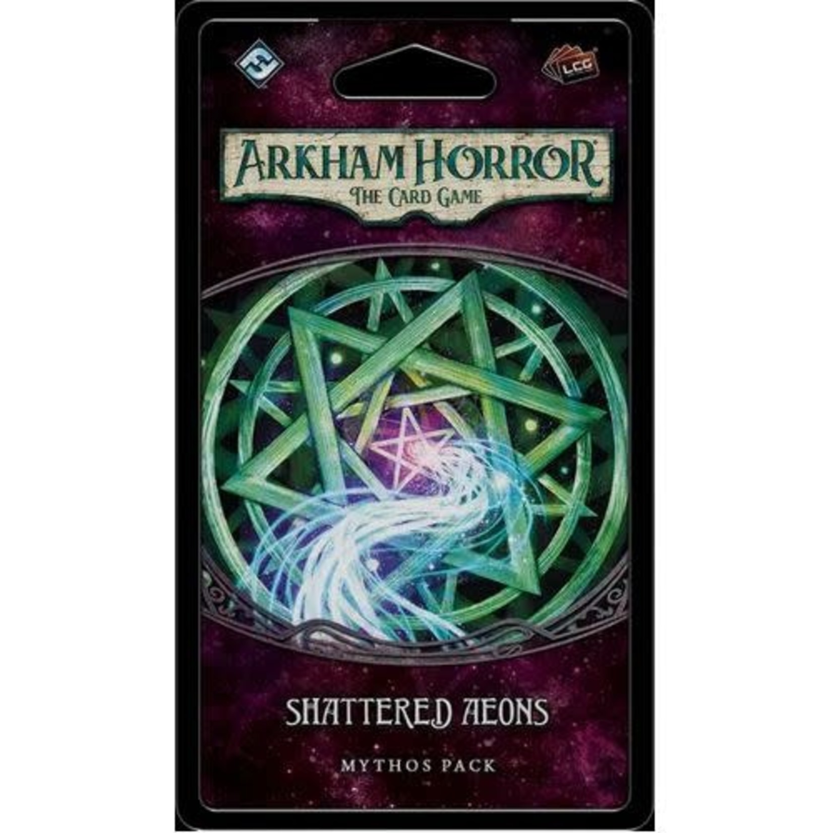 Fantasy Flight Games Arkham Horror LCG: Shattered Aeons Mythos Pack (Forgotten Age 6)