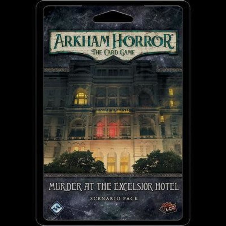 Fantasy Flight Games Arkham Horror LCG: Arkham Horror LCG: Murder at the Excelsior Hotel Standalone Scenario Pack Mythos Pack