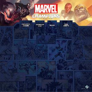 Fantasy Flight Games Marvel Champions LCG - 1-4 Player Game Mat