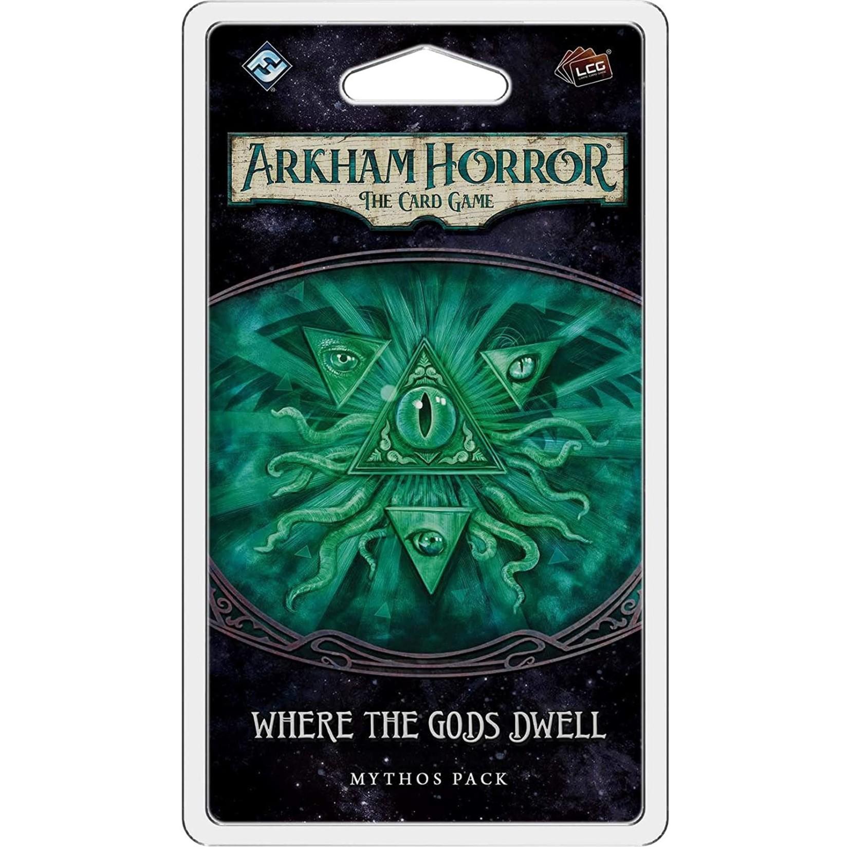 Fantasy Flight Games Arkham Horror LCG: Where the Gods Dwell Mythos Pack (Dream Eaters Pack 5)