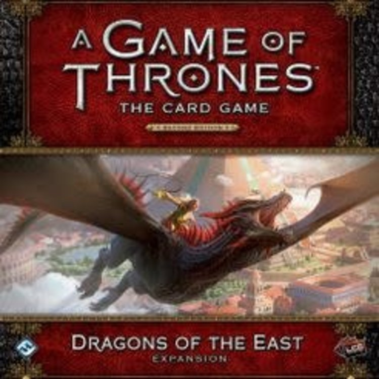 Fantasy Flight Games A Game of Thrones LCG: 2nd Edition - Dragons of the East