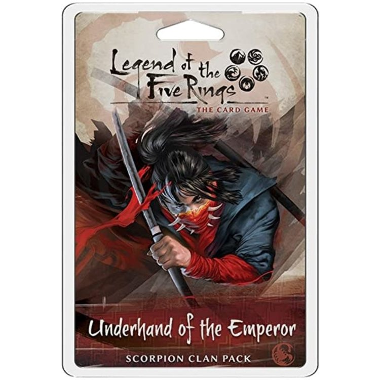 Fantasy Flight Games Legend of the Five Rings Card Game:  Underhand of the Emperor - Scorpion Clan Pack
