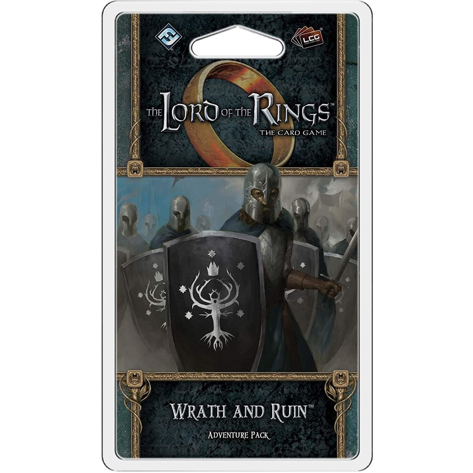 Fantasy Flight Games The Lord of the Rings LCG: Wrath and Ruin Adventure Pack