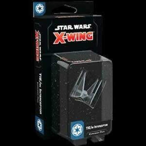 Fantasy Flight Games Star Wars X-Wing 2nd Edition: TIE/in Interceptor Expansion Pack