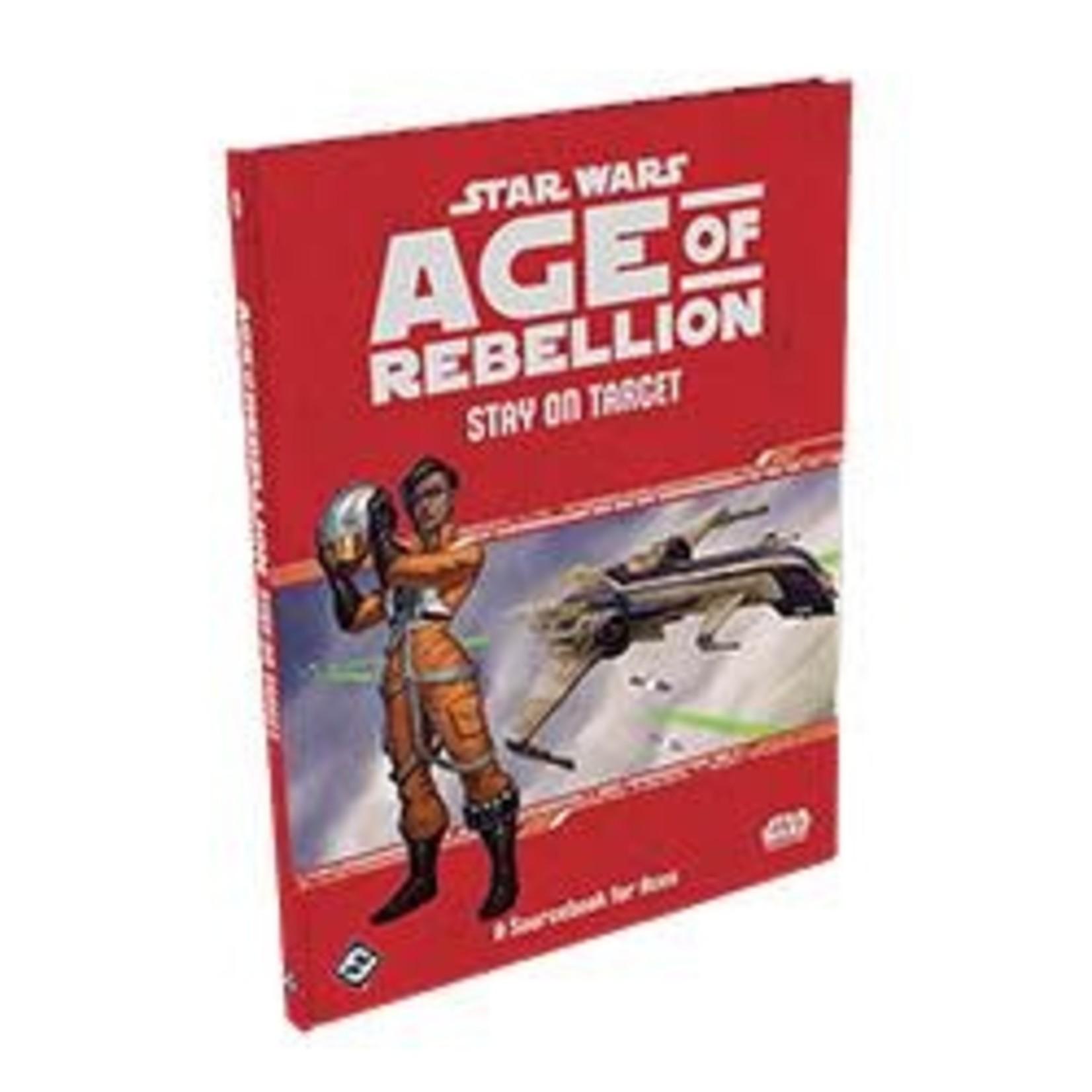 Fantasy Flight Games Star Wars RPG: Age of Rebellion - Stay on Target Hardcover