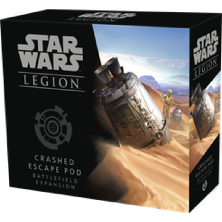Fantasy Flight Games Star Wars: Legion - Crashed Escape Pod Battlefield Expansion