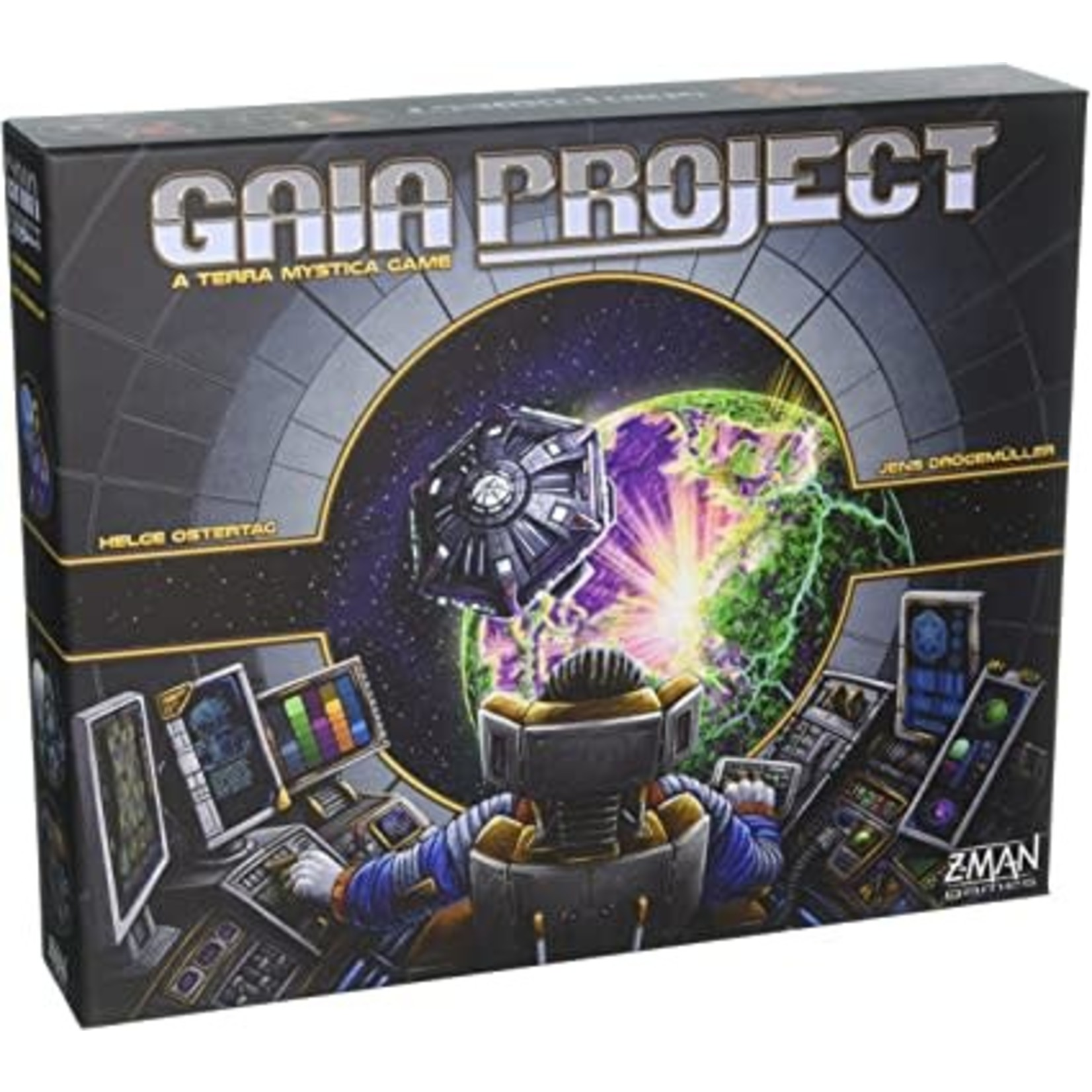 Z-Man Gaia Project: A Terra Mystica Game