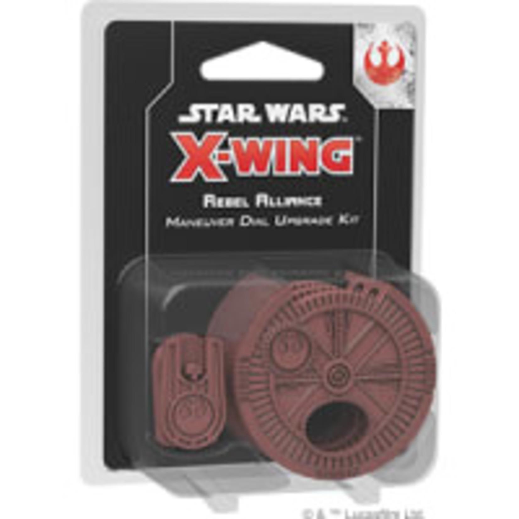 Fantasy Flight Games Star Wars X-Wing 2nd Edition: Rebel Alliance Maneuver Dial Upgrade Kit