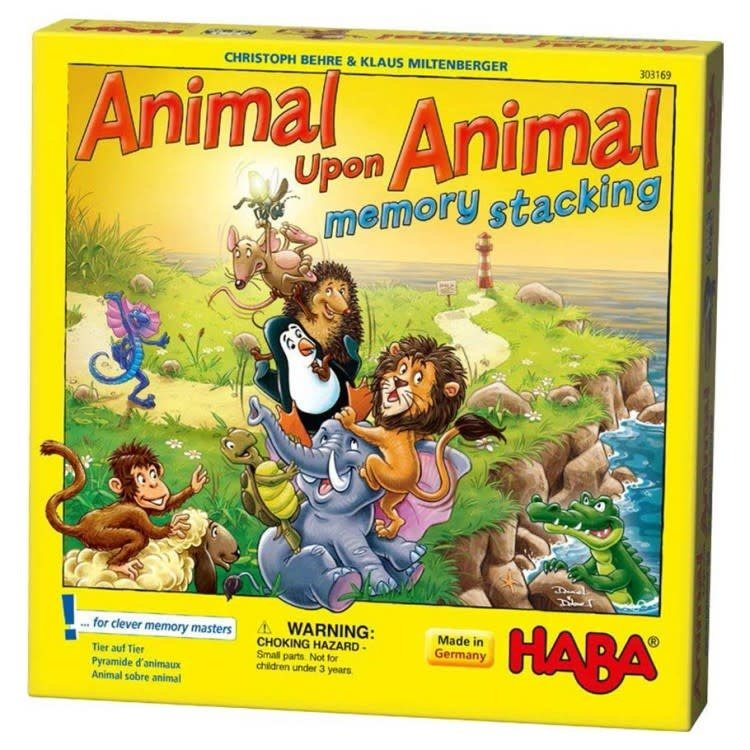 Haba Animal upon Animal - Stacking Memory