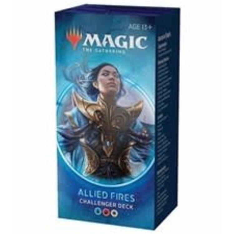 Wizards of the Coast Magic the Gathering: 2020 Challenger Deck: Allied Fires (online)