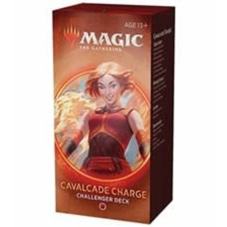 Wizards of the Coast Magic the Gathering: 2020 Challenger Deck: Cavalcade Charge (online)