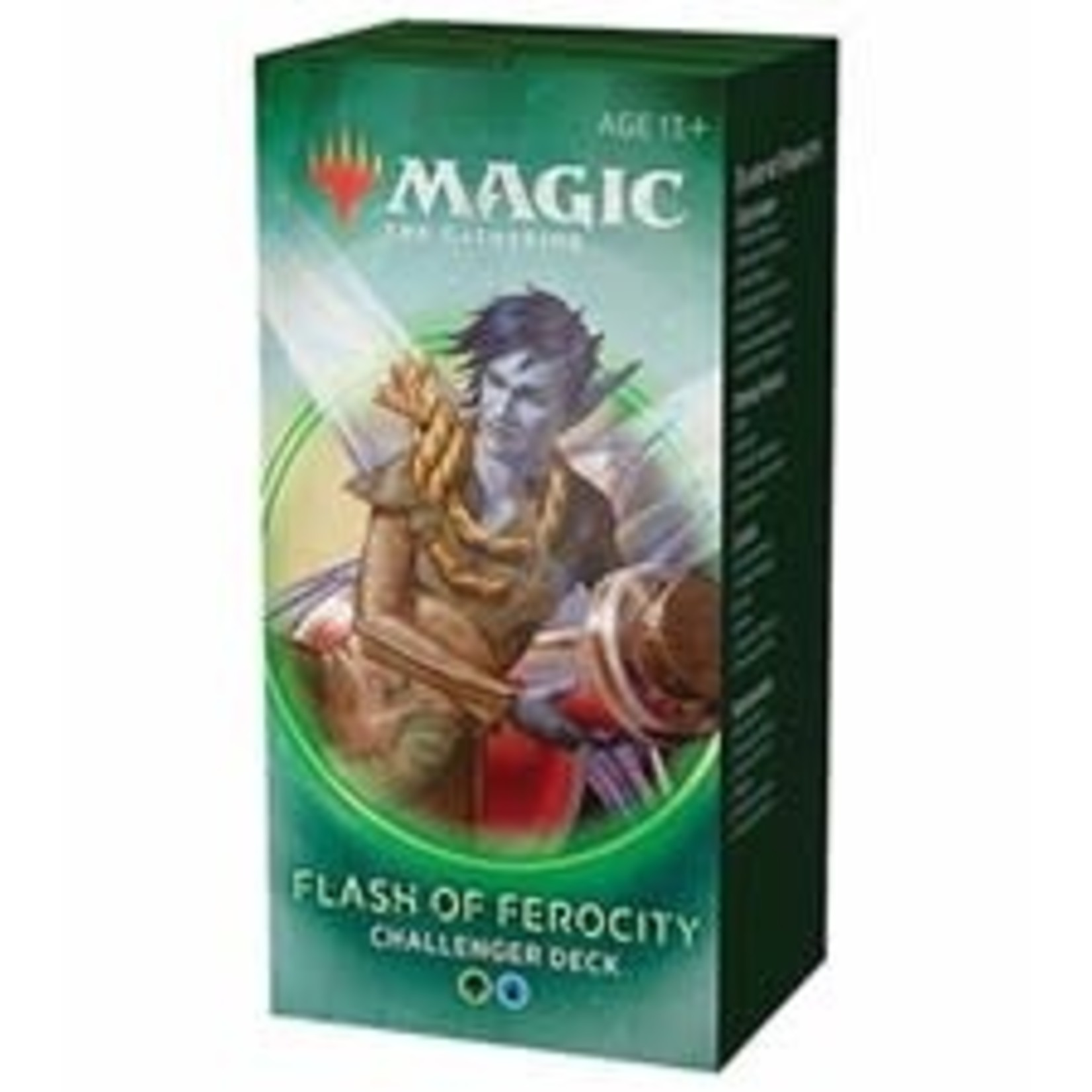 Wizards of the Coast Magic the Gathering: 2020 Challenger Deck: Flash of Ferocity (online)