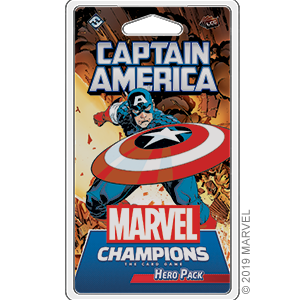 Fantasy Flight Games Marvel Champions Living Card Game: Captain America Hero Pack