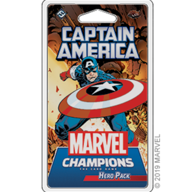 Fantasy Flight Games Marvel Champions Living Card Game: Captain America Hero Pack