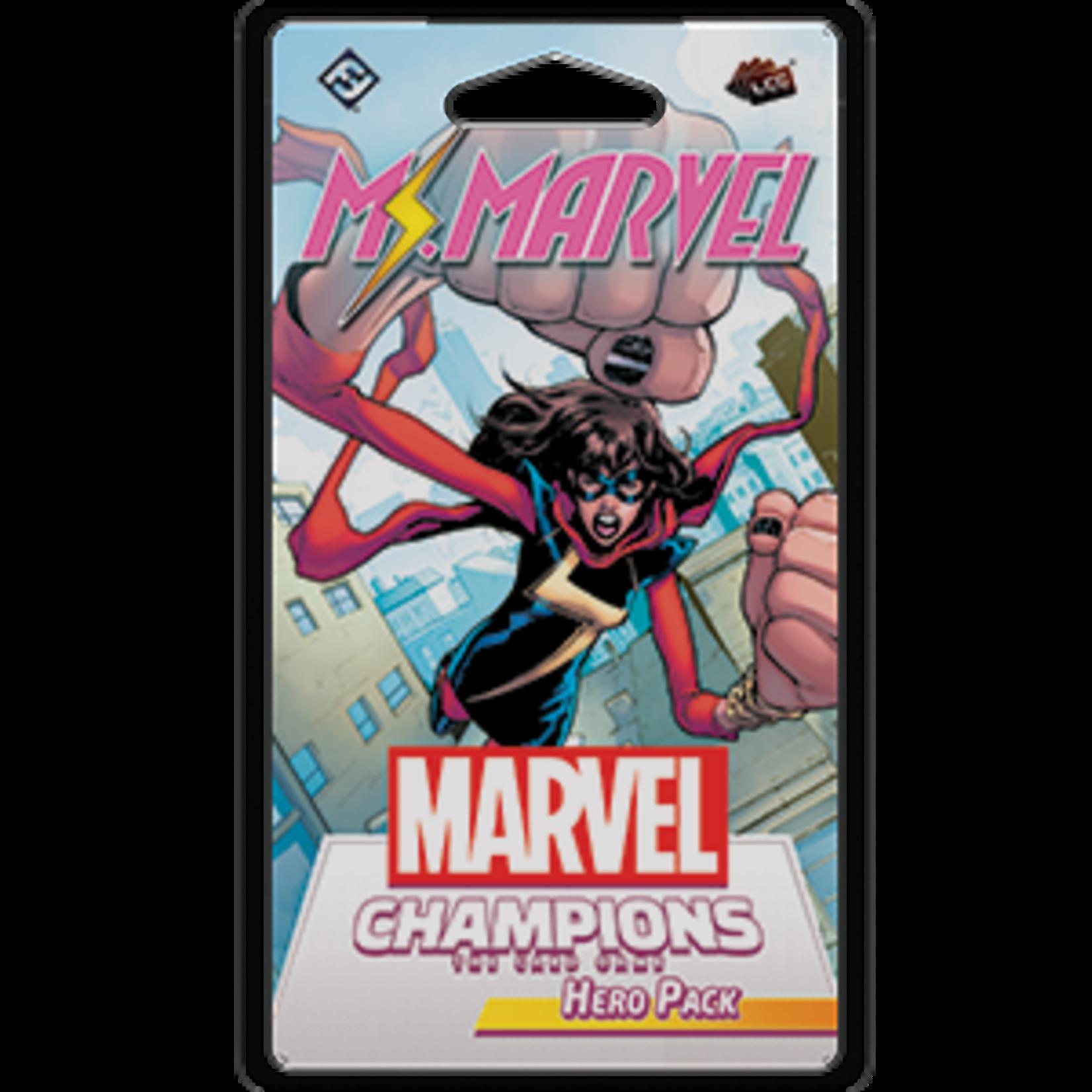 Fantasy Flight Games Marvel Champions Living Card Game: Ms. Marvel Hero Pack