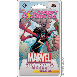 Fantasy Flight Games Marvel Champions Living Card Game: Ms. Marvel Hero Pack