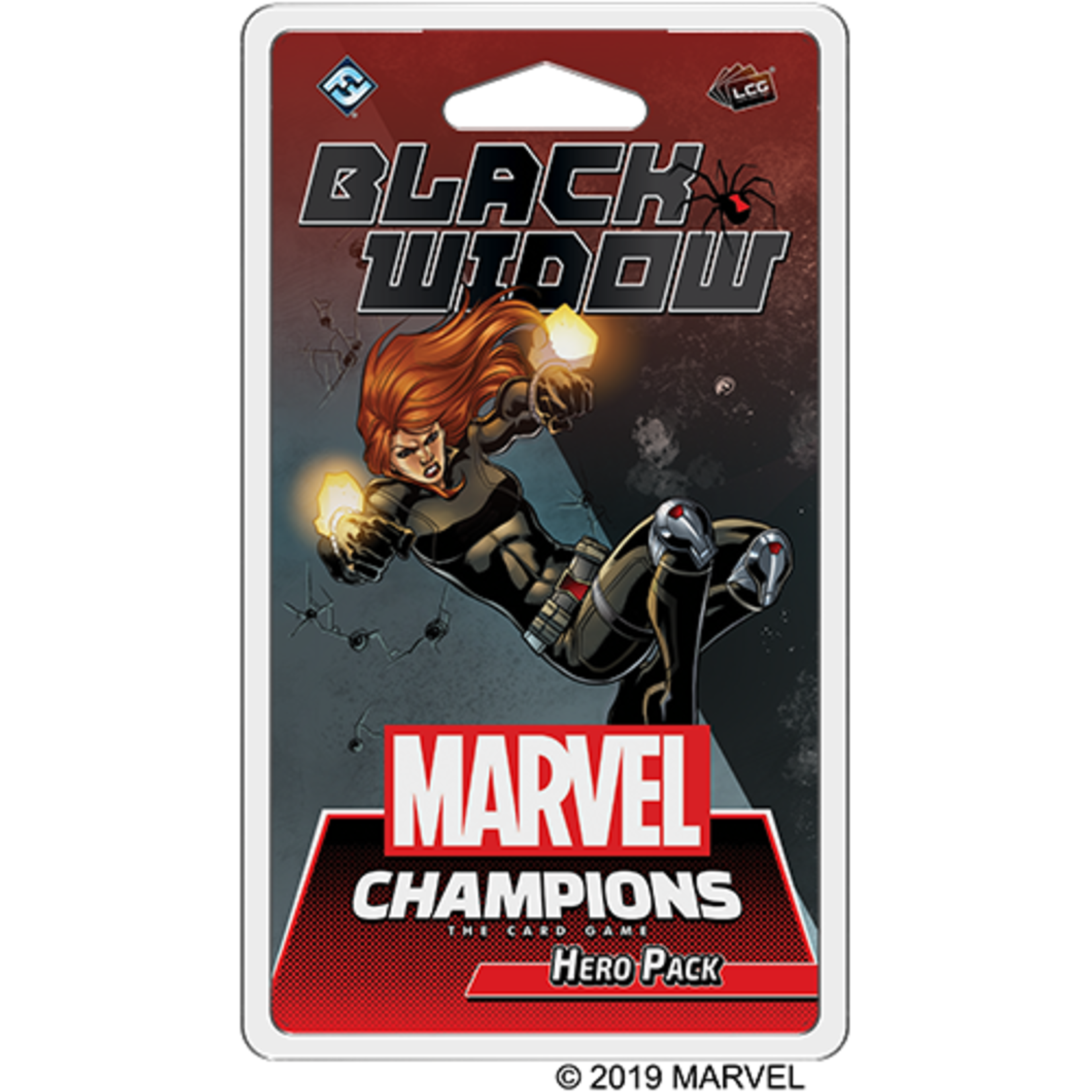 Fantasy Flight Games Marvel Champions Living Card Game: Black Widow Hero Pack