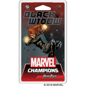 Fantasy Flight Games Marvel Champions Living Card Game: Black Widow Hero Pack